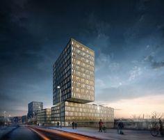 """Architektur """"Kap West"""" wächst am Hirschgarten"""
