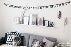 nordic christmas via that nordic feeling Nordic Christmas, First Christmas, Christmas Time, Xmas, Plank, Black Banner, Santa Claus Is Coming To Town, Tis The Season, Christmas Traditions