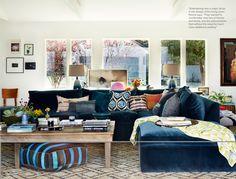 Rachel Bilson's Bohemian Midcentury Home