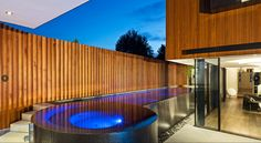 Above ground pools can look amazing!   Middle Park by COS Design