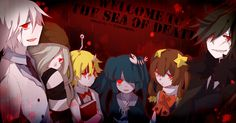 Wadanohara and the Great Blue Sea The Dead Sea group