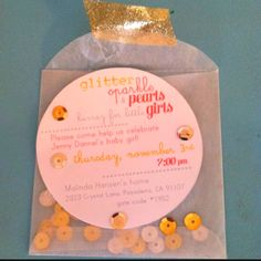 adorable baby shower invite