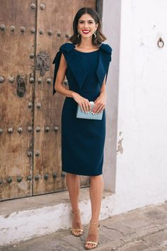 Productos archivo - Violeta Vergara Elegant Outfit, Classy Dress, Elegant Dresses, Casual Dresses, Short Dresses, Simplicity Fashion, Dress Outfits, Fashion Dresses, Classy Outfits For Women