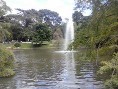 Chorro en estanque
