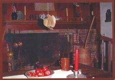Postcard of the Keeping Room of the Benjamin Nye Homestead & Museum (built in 1678) with fan-carved dove (symbol of good luck), made by Sally Nye. Benjamin Nye migrated from England to Saugus, MA in 1635 on the ship Abigail. He was one of the principal settlers of Sandwich in 1637. The Benjamin Nye Homestead & Museum is in East Sandwich, Cape Cod, MA. During the tourist season there are guided tours of eight rooms with period antiques. Visit: www.nyefamily.org Keeping Room, Wooden Bird, Tour Guide, Nye, Cape Cod, Old World, Genealogy, Sally, Homestead