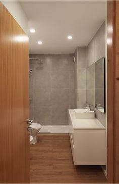 • ARCOZELO APARTMENT • apartment interior refurbishment • bathroom | Portohistórica Construções S.A.