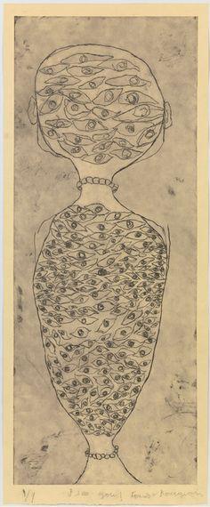 Louise Bourgeois. Todos veían lo que yo veía, pero no igual que yo, con mis ojos, desde mi particular perspectiva, a mi manera, que es tan endeble e insignificante como la de los demás, pero que es, no obstante, la mía. Mïa y, por tanto, única. John BANVILLE, La guitarra azul