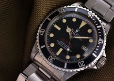ROLEX DOUBLE RED SEA DWELLER 1665 MARK III DIAL 1970y