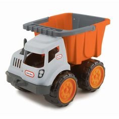 Dirt Diggers� 2-in-1 Haulers Dump Truck - Orange/Gray for $17.99 #littletikes