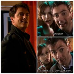 Ten, Donna, and Captain Jack