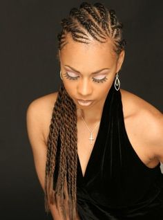 Adorable Braided Hairstyles 2015 For African American Women ~Latest African fashion, Ankara, kitenge, African women dresses, African prints, African men's fashion, Nigerian style, Ghanaian fashion ~DKK