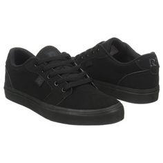 Athletics DC Shoes Men's ANVIL Black/Black FamousFootwear.com christmas