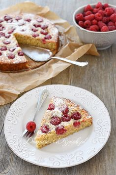 Malinowe ciasto z polenty Food Cakes, Cake Recipes, French Toast, Drinks, Breakfast, Cakes, Drinking, Morning Coffee, Beverages