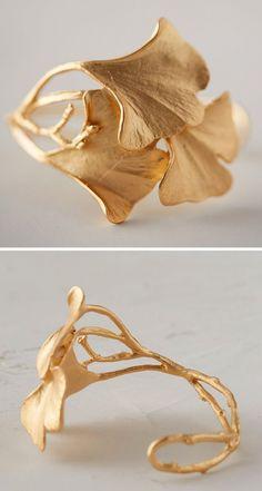 Gold Leaf Cuff