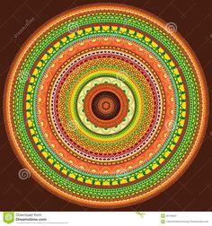 YAY Images - Colorful Henna mandala by krishnasomya Mandala Art, Mandala Design, Free Images, Hena, Meditation Images, Stress, Sacred Art, Land Art, Books