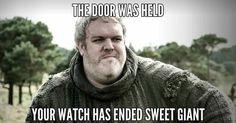 Hodor, Game of Thrones Season 6