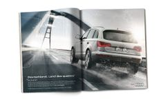 Audi: Discover the Land of quattro. A whole campaign world. - thjnk