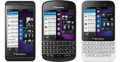 Blackberry Z10, Q10 dan Q5 was arrived in Indonesia