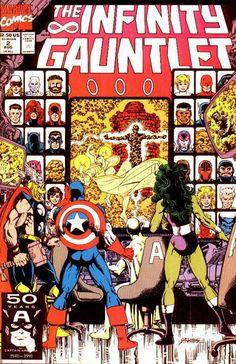 Infinity Gauntlet # 2 by George Pérez