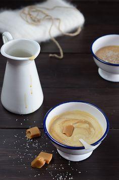 ¡Qué cosa tan dulce!: Natillas de coco y caramelo