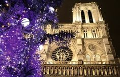 Notre Dame de Paris a Noel.