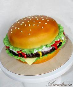Burger cake Торт бургер