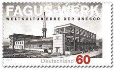 Fagus-Werk Alfeld auf Briefmarke von 2014 http://d-b-z.de/web/2014/09/20/fagus-werk-alfeld-briefmarken/