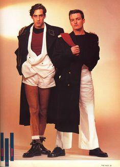 Ray Petri - Buffalo Style THE FACE magazine circa 1984.