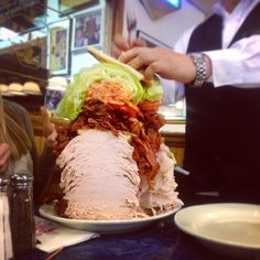 Check Out Harold\'s Deli in Edison, NJ as seen on Man vs Food and featured on TVFoodMaps. Known for Home to some of the best and biggest deli food in the world, like their ridiculous triple-decker sandwich and 2-foot-tall layer cakes.