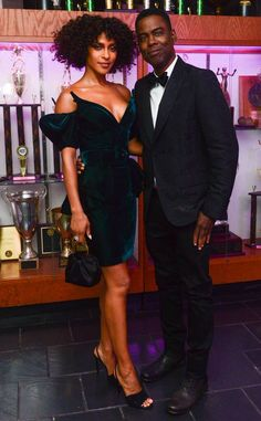 Chics et sophistiqués from Gala du Met 2019 : les photos des afters Black Silk Shirt, All Black Fashion, Chris Rock, Satin Top, Party Photos, Red Carpet Fashion, Wearing Black, Absolutely Gorgeous, Beautiful Dresses