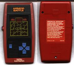Mattel Electronics Armor Battle
