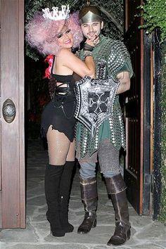 Christina Aguilera and boyfriend Matthew Rutler ready for Halloween