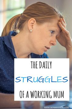 The daily struggles of a working mum are very real. There's so much to plan and organise to a strict schedule.