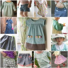 Inspiring website for sewing kids clothes and other misc things