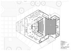 Image 21 of 30 from gallery of Theatre Maurice Novarina Renovation/ WIMM. Floor Plan