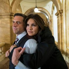 Law and order svu Barba and Benson do adorable