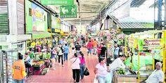 En la Minorista, en el sector céntrico de la ciudad, algunos de los comerciantes decidieron cultivar sus propios productos para mitigar los altos precios. Fair Grounds, Travel, Products, Food Items, Growing Up, Colombia, Cities, Viajes, Destinations