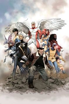 The X-Men Gold #1 by Olivier Coipel *