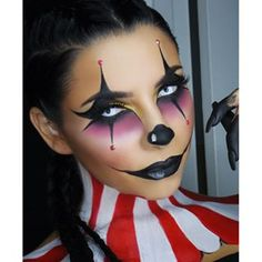 sexy clown makeup - Google Search