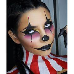sexy clown makeup - Google Search