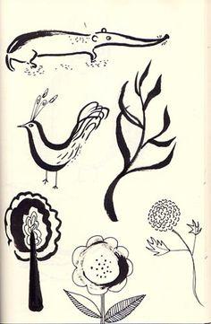 Sketches by Trina Dalziel