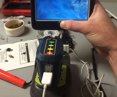 Learn to Give Life to Dead Batteries - Hack 2 Devices For A Cheap portable USB Charger and Ryobi Battery Charge… Learn to Give Life to Dead Batteries - Save Money And NEVER Buy A New Battery Again Cordless Drill Batteries, Ryobi Battery, Whitening Cream For Face, Skin Whitening, Battery Hacks, Portable Usb Charger, Battery Recycling, Lead Acid Battery, Pole Dancing