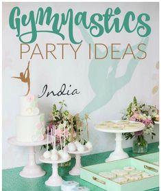 Gymnastics Party, Place Cards, Place Card Holders, Home Decor, Decoration Home, Room Decor, Home Interior Design, Home Decoration, Interior Design