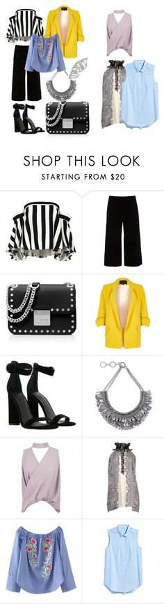 """""""Friends"""" by tancho-cts on Polyvore featuring мода, Milly, Lafayette 148 New York, MICHAEL Michael Kors, River Island, Kendall + Kylie, Forest of Chintz, Boohoo и Balenciaga"""