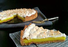 Tarte au citron meringuée vegan (jus de pois chiche)