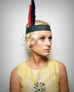 "Comedian, Actress, Founder of 'Smart Girls' Web Series: Amy Poehler - ""I get worried for young girls sometimes; I want them to feel that they can be sassy and full and weird and geeky and smart and independent, and not so withered and shriveled."""