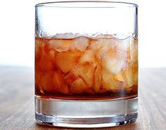 JackMan - Jack Daniels Manhattan - Ice,  2 1/2 shots of Jack, 1/2 shot of Red Vermouth, Maraschino cherry. Try it. Great BBQ drink.