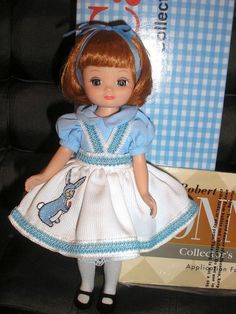 "8"" Tiny ""Betsy McCall Loves Bunnies"" Doll in Box Robert Tonner c 2002 #8BetsyMcCallReproductionDoll"