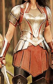 Lady Sif's armour