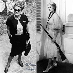 During the filming of 'Hush… Hush, Sweet Charlotte' Joan Crawford granted to visiting reporter/author Lawrence J. Quirk, she… Vintage Movie Stars, Vintage Movies, Joan Crawford, Vintage Hollywood, Classic Hollywood, Hush Hush Sweet Charlotte, Celebrity Feuds, Robert Aldrich, Baby Jane